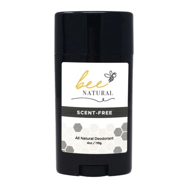 Bee Natural Deodorant Scent Free Aluminum Free