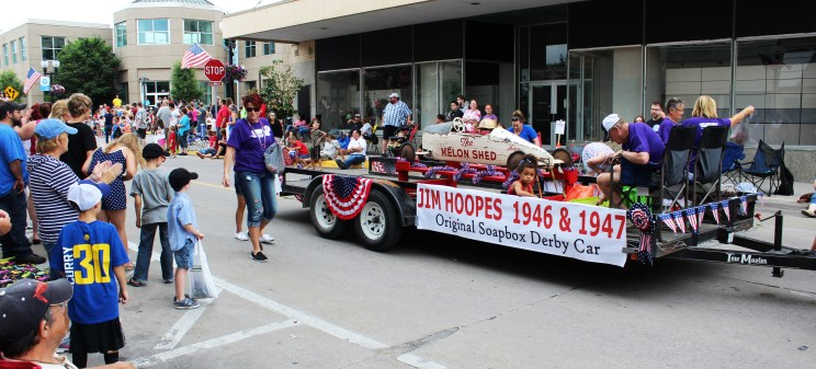 Muscatine 4th of July parade