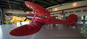 Big Red airplane, the staggerwing plane that started the museum