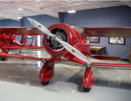 The very first Staggerwing