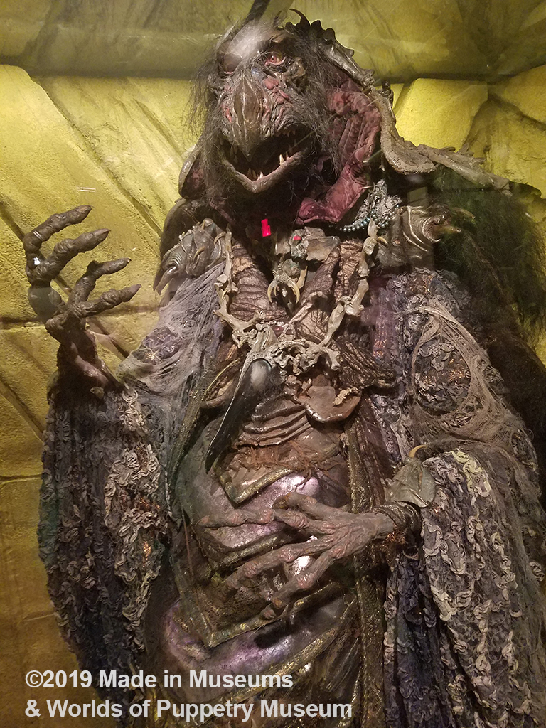 "A Skeksis ( aka ""bad guys) from The Dark Crystal."