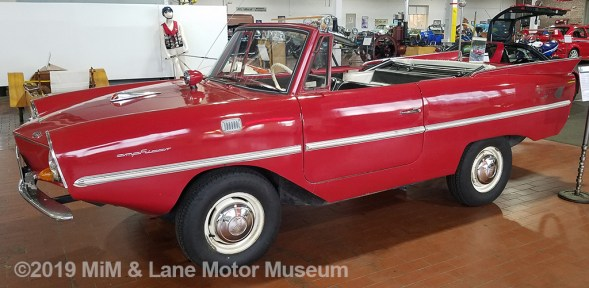 The Amphicar - both a car and a boat