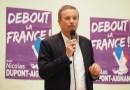 Nicolas Dupont Aignan, en meeting à Perpignan, veut remettre la France en marche !