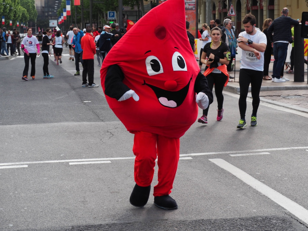 La goutte de sang en plein effort