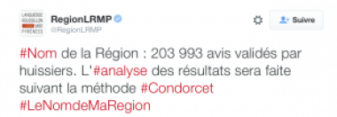 Tweet Région LRMP