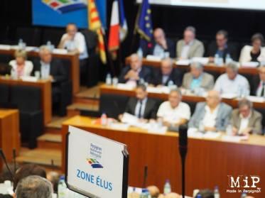 Conseil communautaire Perpignan Métropole - image d'archives