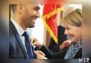 Aziz Sebhaoui nouveau chevalier de St Jacques, Josiane Chevalier rend hommage à une «belle personne»