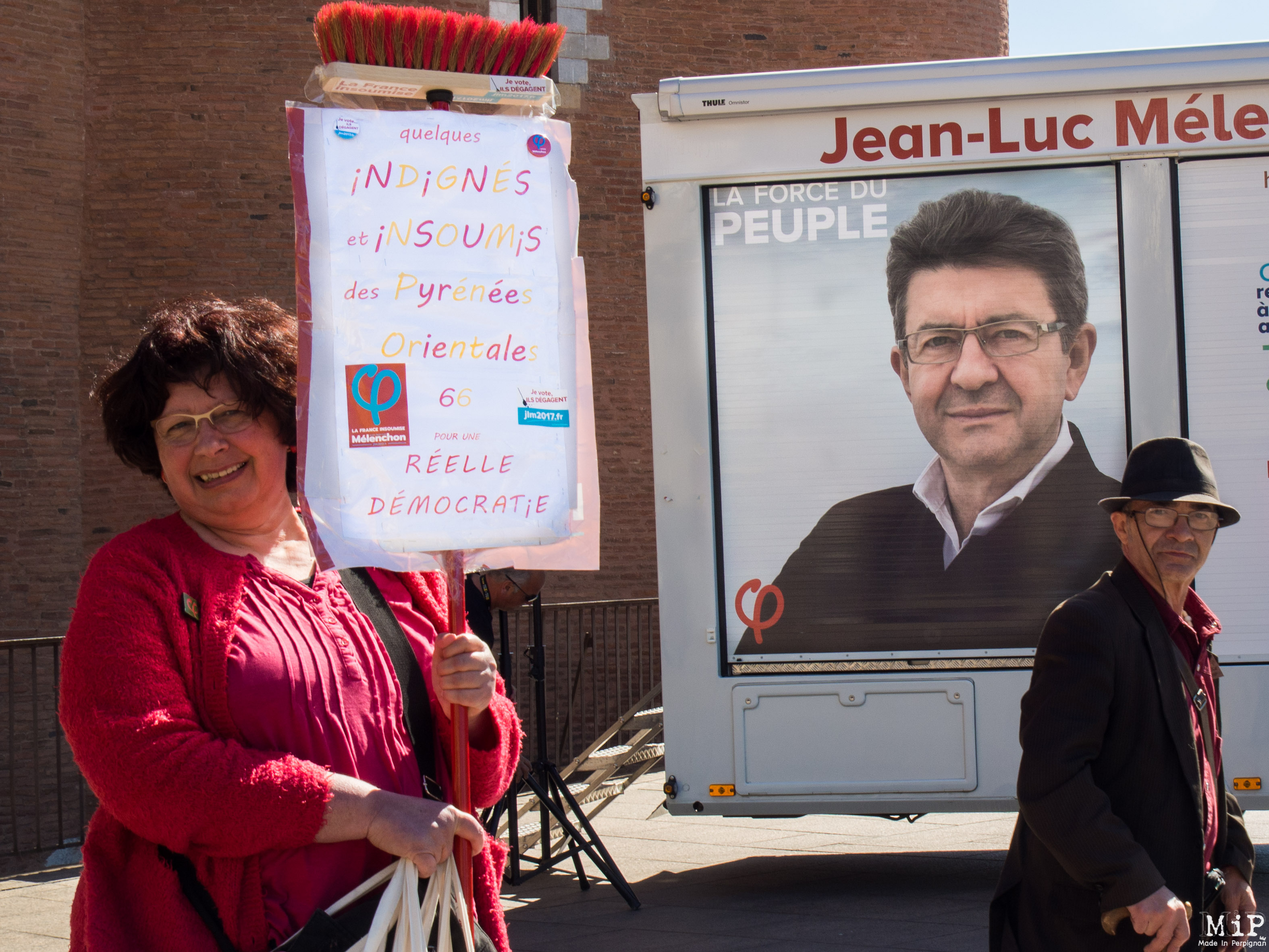 The Melenchon's tour à Perpignan-4191722