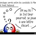 DuBulle #31 Sondages serrés entre Macron et Le Pen