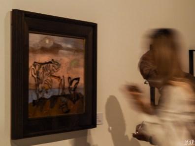 """""""La vache spectrale"""" vient clore l'épisode de la """"Sainte Objectivité"""", huile sur contreplaqué de 1938"""