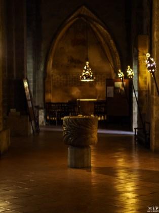 Vue de l'intérieur de la Cathédrale
