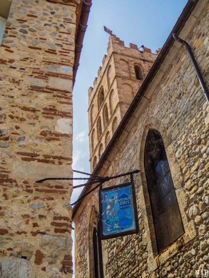 Vue du clocher de la Cathédrale d'Elne