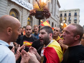 Barcelone - Manifestation des pro Espagne contre le référendum catalan-9300150