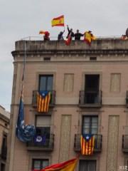 Barcelone - Manifestation des pro Espagne contre le référendum catalan-9300203