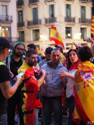 Barcelone - Manifestation des pro Espagne contre le référendum catalan-9300581