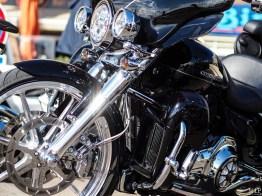 Concentration Harley Davidson à Saint Cyprien dans les Pyrénées Orientales-9160025