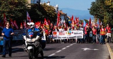 2ème journée sociale contre la réforme du droit du travail à Perpignan