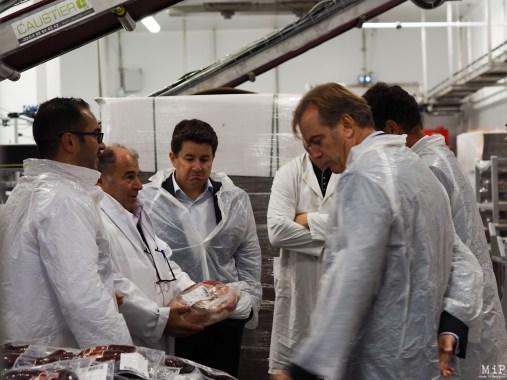 La délegation UPE66 visite l'entreprise Guasch