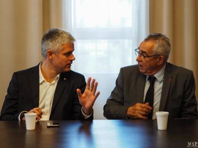 Laurent Wauquiez et Jean Marc Pujol