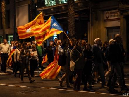 """Manifestation devant le consulat Espagnol de Perpignan pour la libération des """"Jordi"""""""