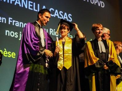Céremonie de remise des diplomes UPVD - promotion 2017 - Parrain François Molins-240583