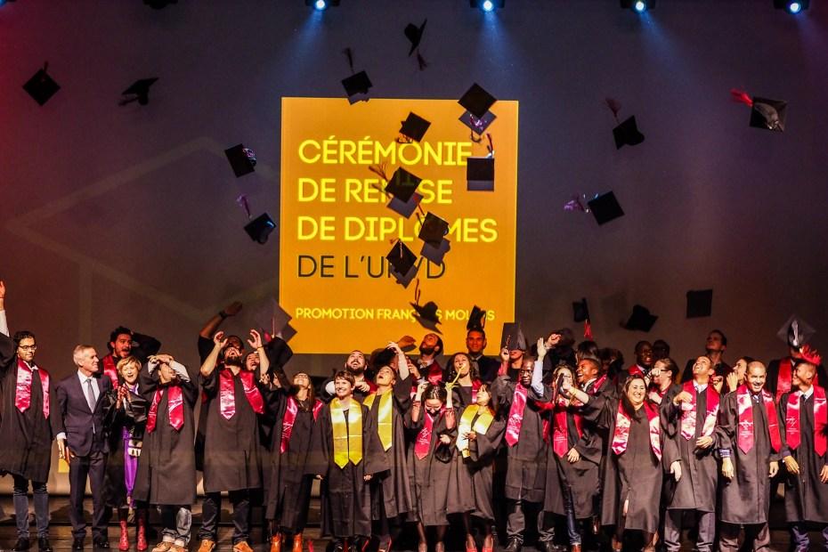 Céremonie de remise des diplomes UPVD - promotion 2017 - Parrain François Molins-240721
