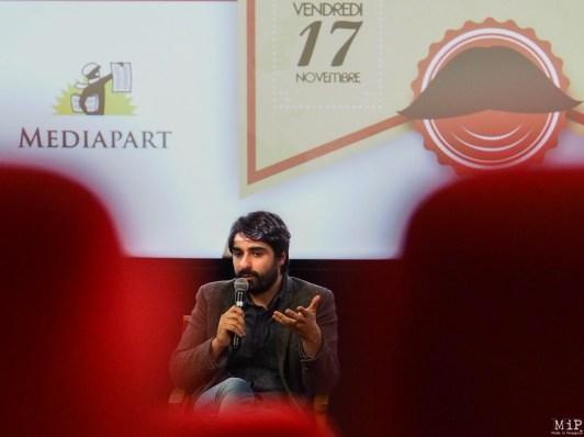 Mediapart - Fabrice Arfi à Perpignan - Avec les compliments du Guide-170117