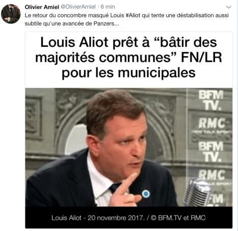 Olivier Amiel Tweet