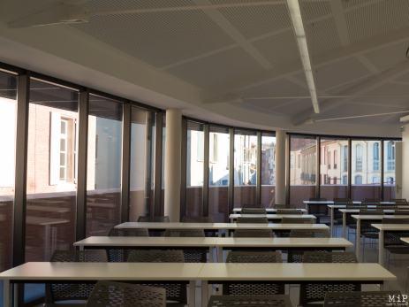 Salle de cours du bâtiment Font Nova