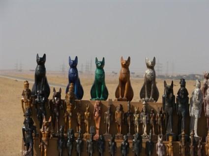 Le chat est élevé au rang de divinité dans l'Egypte ancienne