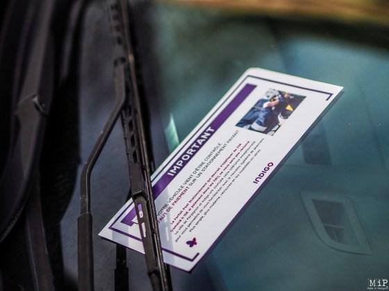 Avertissement aux automobilistes qui n'ont pas acquitté leur stationnement