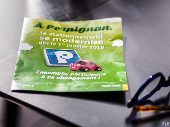 Prospectus distribué par la mairie pour informer sur le nouveau système de stationnement