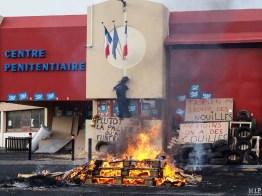 Prison de Perpignan - Blocage - Janvier 2018-1250885