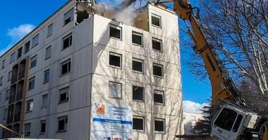 Démolition des immeubles de la cité Diaz – Perpignan s'attaque au problème urbain du Vernet