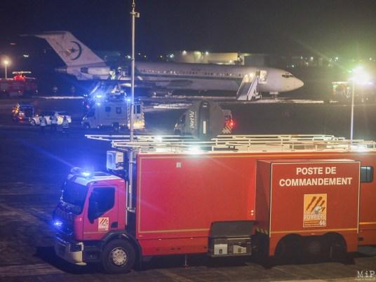 Simulation grandeur nature d'un crash d'avion à Perpignan-3291591