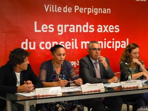 Stéphane Ruel - Fatima Dahine - Jean-Marc Pujol - Caroline Ferrières