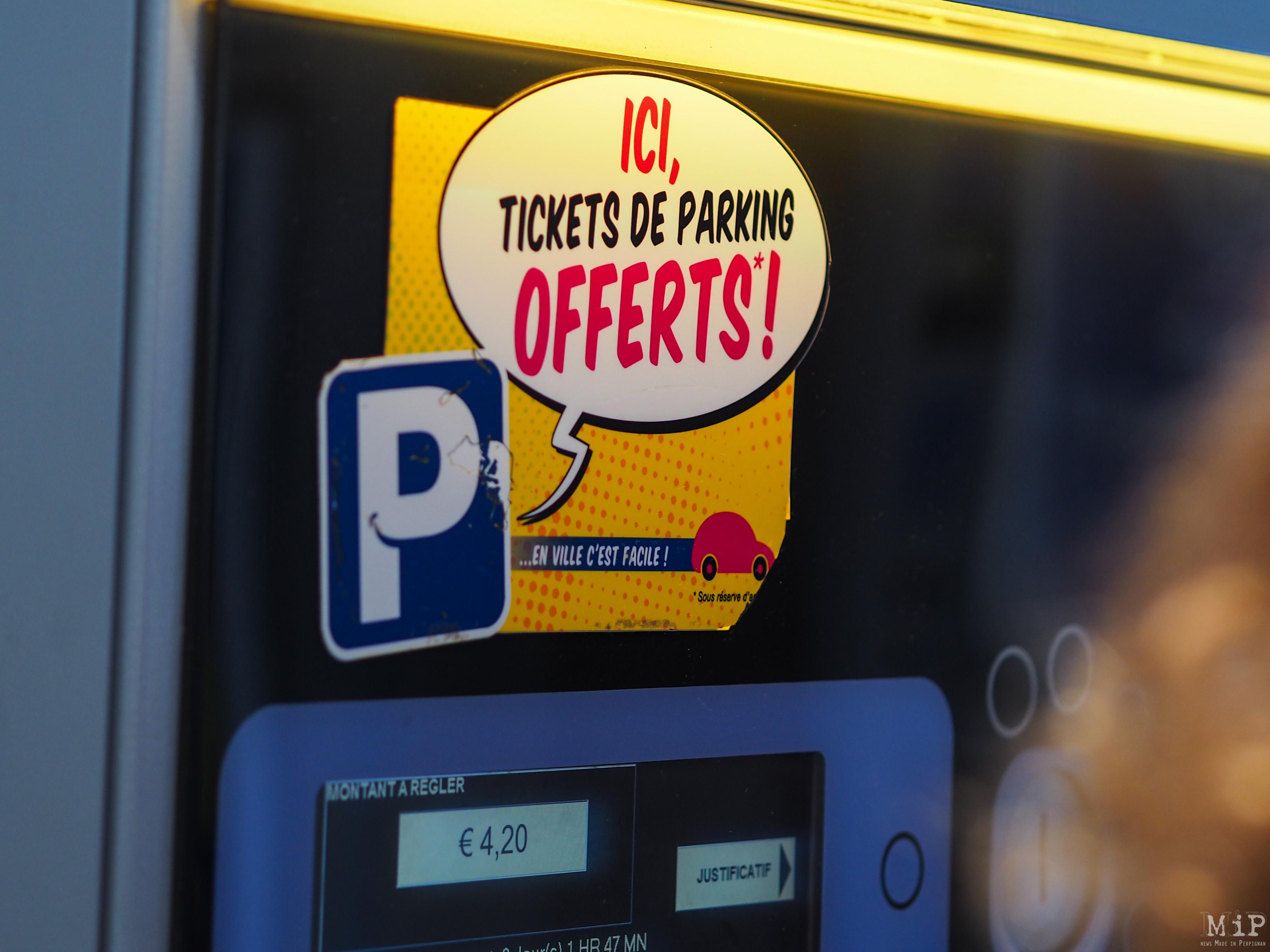 Perpignan - Opération ticket de parking à 1 euro -5230294