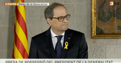 Catalogne – Le nouveau président catalan «promet fidélité au peuple de Catalogne»