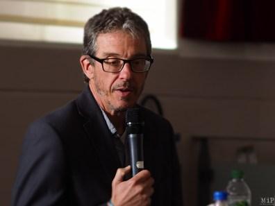 Laurent Mucchielli invité par l'association Perpignan Equilibre amenée par Clotilde Ripoull