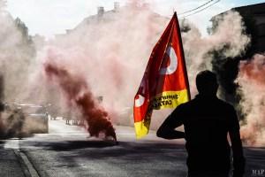 Pompiers Perpignan - SDIS 66 - grève manifestation