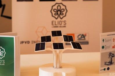Elios l'arbre solaire présent lors de la première de InDays