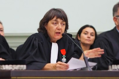 Chantal Ferreira Présidente du Tribunal - image d'archives