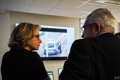 Valérie Pécresse et Jean-Marc Pujol au centre de vidéo-protection