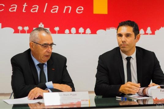 Municipales 2020 - Perpignan - Jean-Marc Pujol Fabrice Lorente