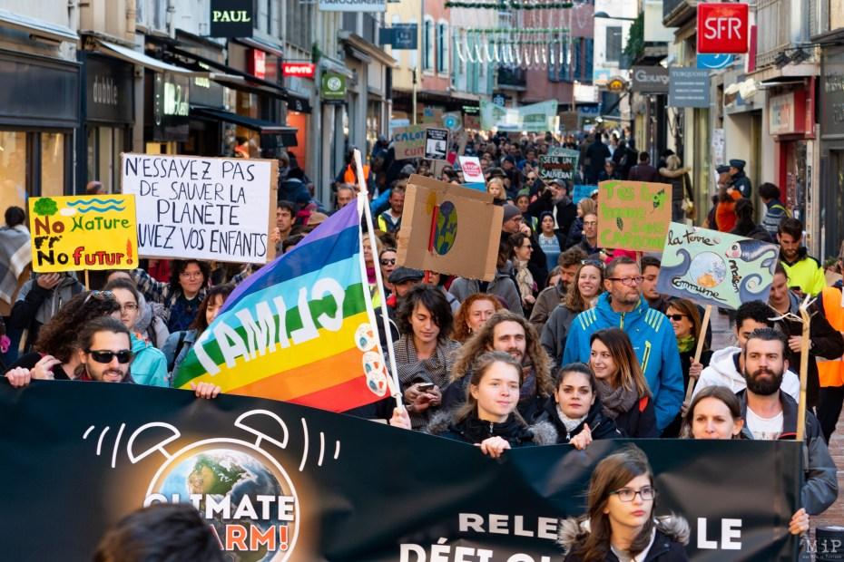 Marche pour le Climat Novembre 2018 Perpignan - Monde d'après