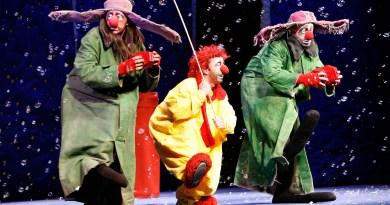 Théâtre de l'Archipel – Le Noël onirique du clown mélancolique du Slava's Snowshow