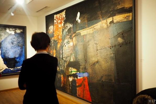 Musée Hyacinthe Rigaud - Exposition temporaire Antoni Clavé-8