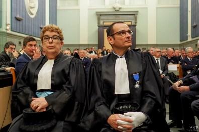 Installation du nouveau président du tribunal de Perpignan