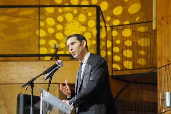 Fabrice Lorente, président de l'Université Perpignan Via Domitia