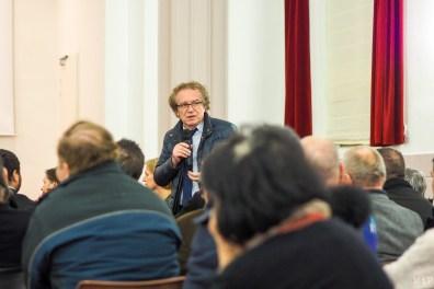 Jean Roques, Maire de Toulouges présent au lancement de l'association RESPIRER